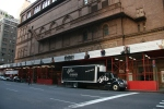 SPCO truck on tour at Carnegie Hall