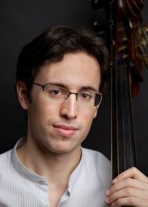 Bassist Zachary Cohen, 2010. Photo by Kevin J. Miyazaki